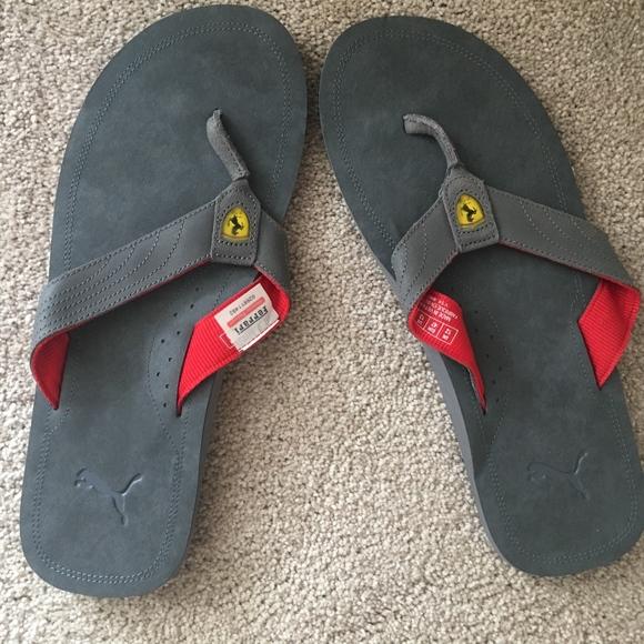 Ferrari Other - Brand New Ferrari shoe (Flip Flop) dd4c84f05